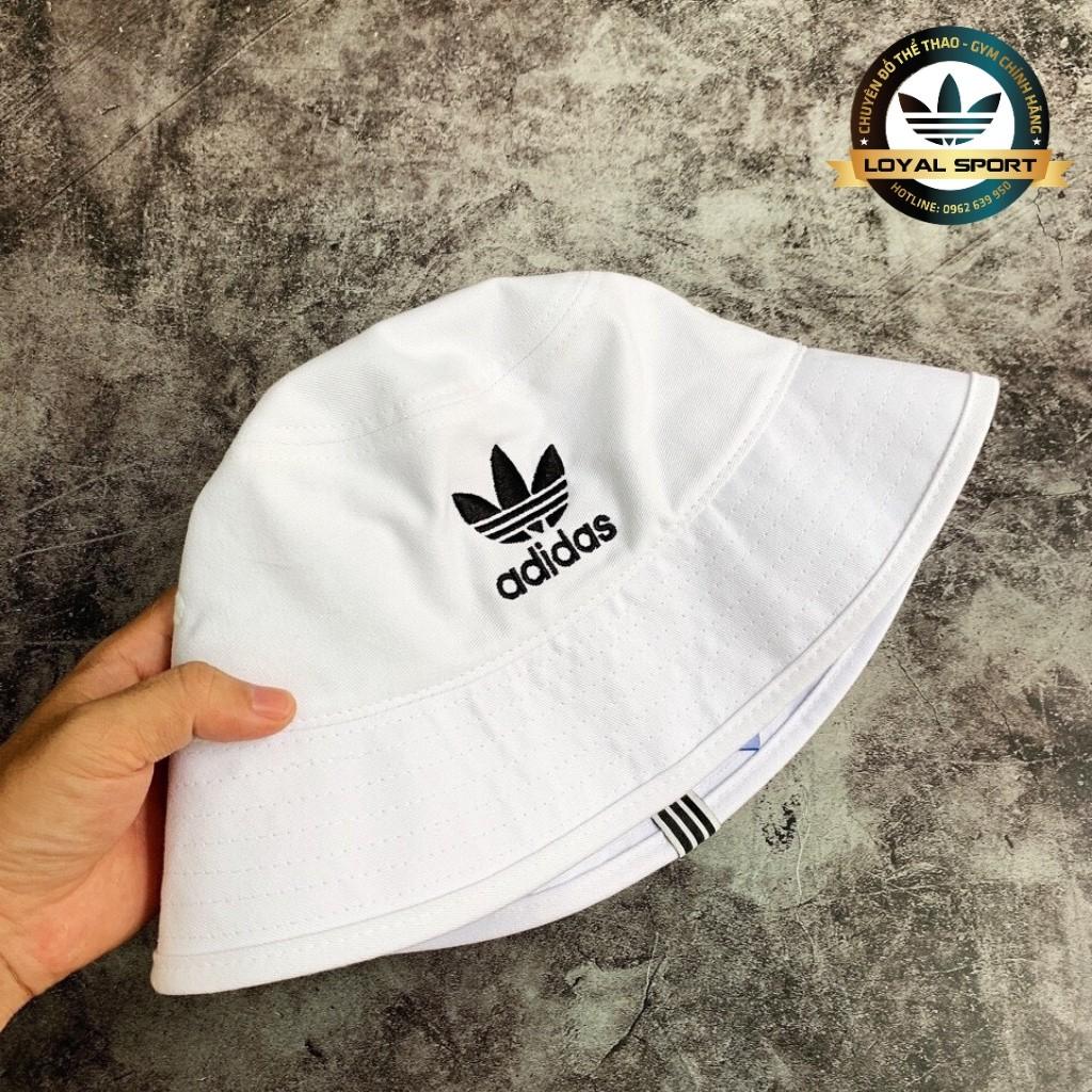 Mũ Bucket Trắng - Full Tag Code - Chất Vải Kali Dầy Dặn - Trẻ Trung Sành Điệu
