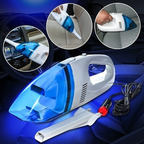 60W Mini 12V Car Auto Portable Lightweight High Power Handheld Wet Dry Dust Vacuum Cleaner