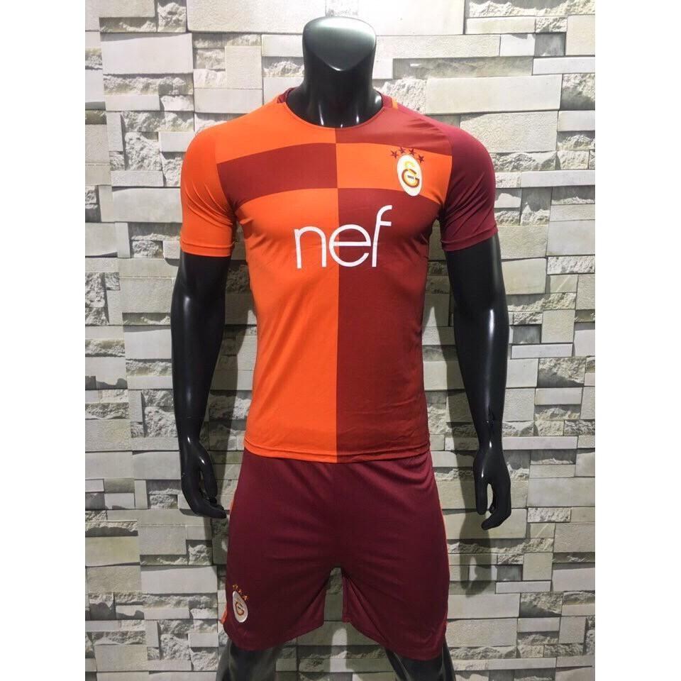 Bộ đồ đá banh Galatasaray 17-18 ML (Đỏ cam)