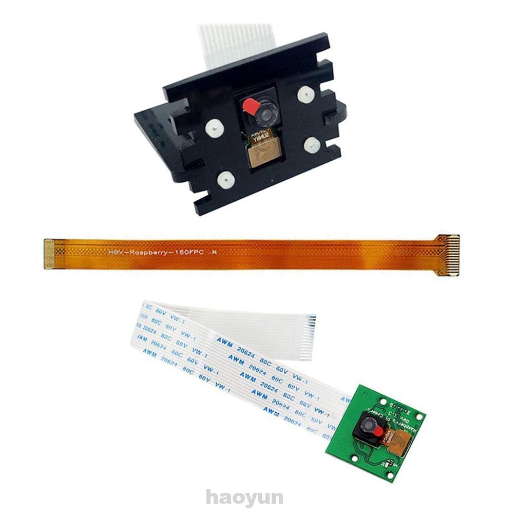 Camera Module Kit DIY Fisheye Lens Mini With Bracket For Raspberry Pi 3B+