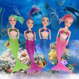 【ezbuy】 Flash LED Light Swimming Mermaid Princess Doll Kids Girl Play House Toy Gift