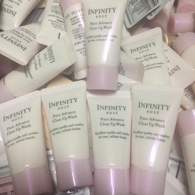 Sữa rửa mặt - Infinity Pure Advance Clear Up Wash