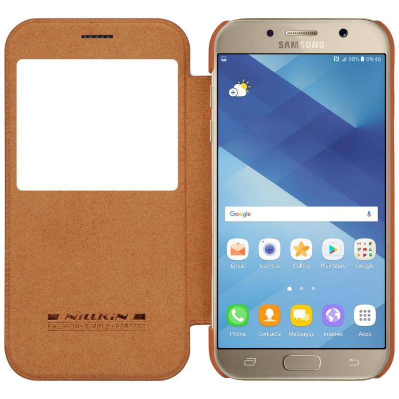 Bao da Nillkin QIN cho Samsung Galaxy A5 2017 chính hãng
