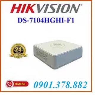 ﹊™Đầu ghi hình HD-TVI 4 kênh TURBO 3.0 HIKVISION DS-7104HGHI-F1