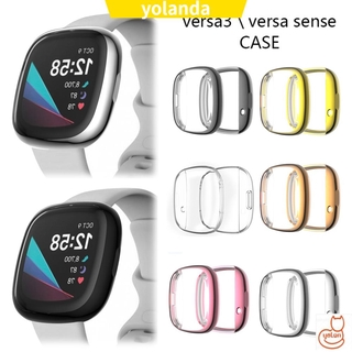 ☆YOLA☆ Accessories Soft TPU Case Ultra thin Electroplated Screen Protector New HD Clear Watch Shell Anti-Scratch Full Cover/Multicolor