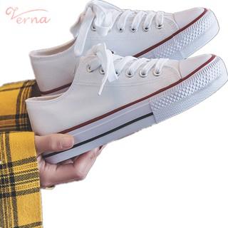Verna Giày Thể Thao Vải Canvas Thời Trang Hàn Quốc 2021 Dành Cho Nữ