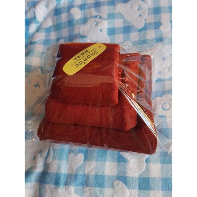 {Sỉ = lẻ} Bộ 3 khăn tắm, khăn mặt ,khăn gội trơn (khăn tắm 1mx50)