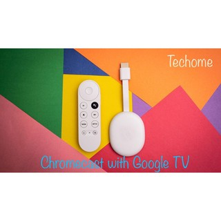 Chromecast with Google TV - Có Tiếng Việt - Thiết bị truyền nội dung lên TV tích hợp trợ lý Google