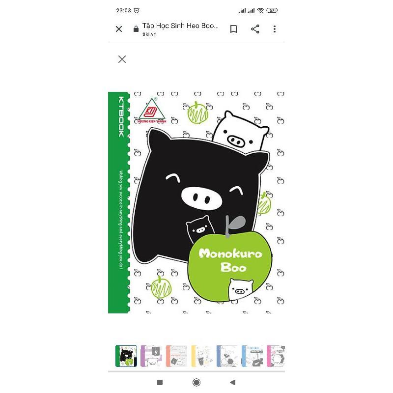 Tập Heo boo 96 trang ( 10 tặng 1)