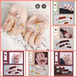 [QUÀ TẶNG] Set 24 móng tay giả kèm keo dán sẵn (Mẫu Mới) thumbnail