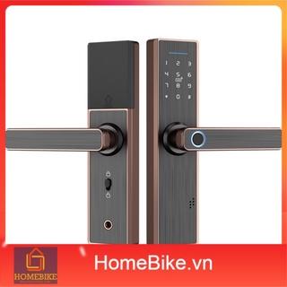 Khóa cửa vân tay thông minh X1 Tuya Smart, WIFI, ttlock mở cửa từ xa, thẻ từ, mật mã siêu nhạy, khóa cửa chung cư