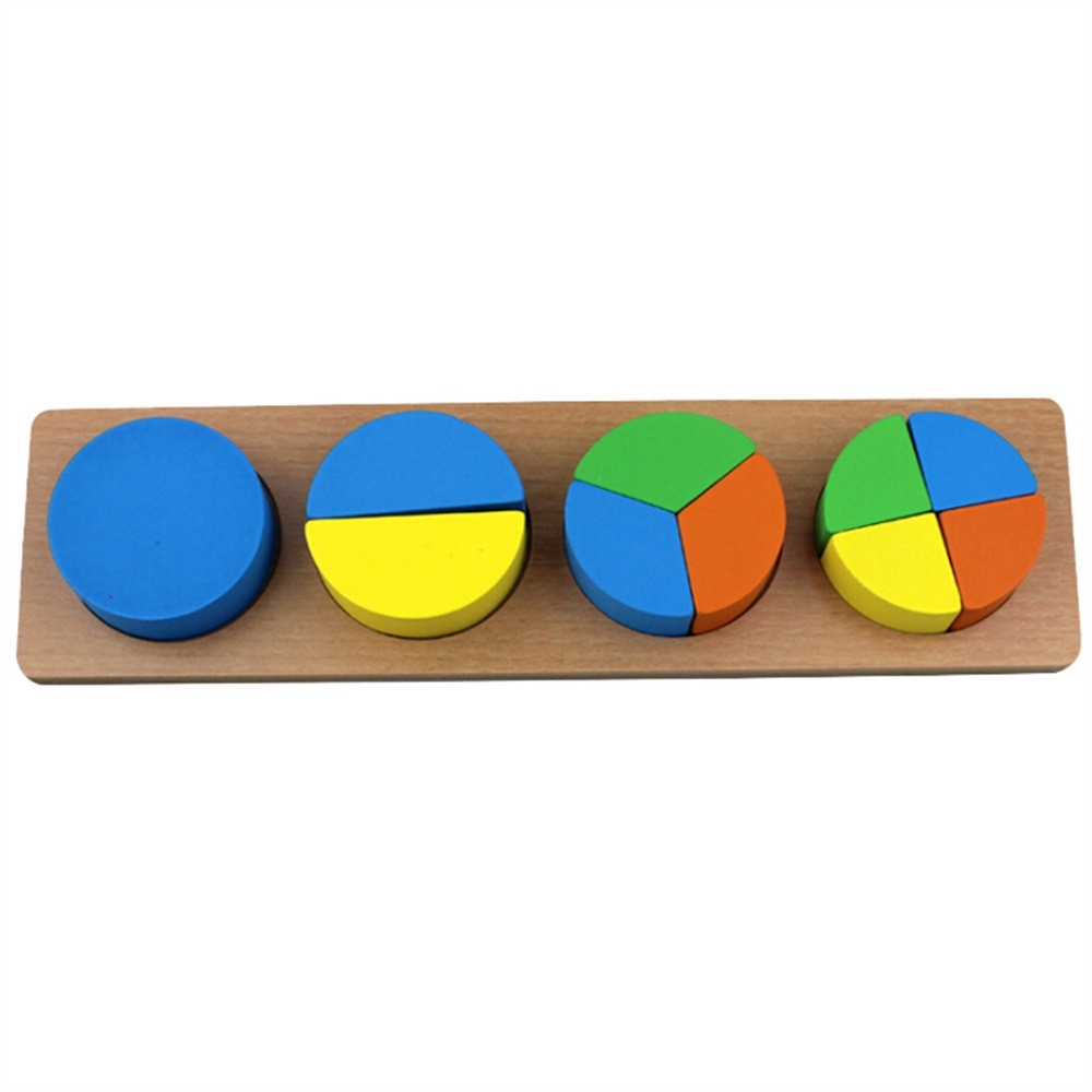 【COD】Wooden Children's Geometric Figure Puzzle Jigsaw Educational Toy
