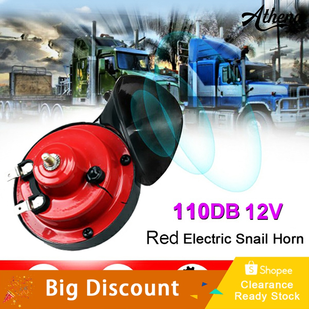 biling 12V 110DB Motorcycles Electric Vehicle Snail Loud Horn Motorbike Accessory Tool