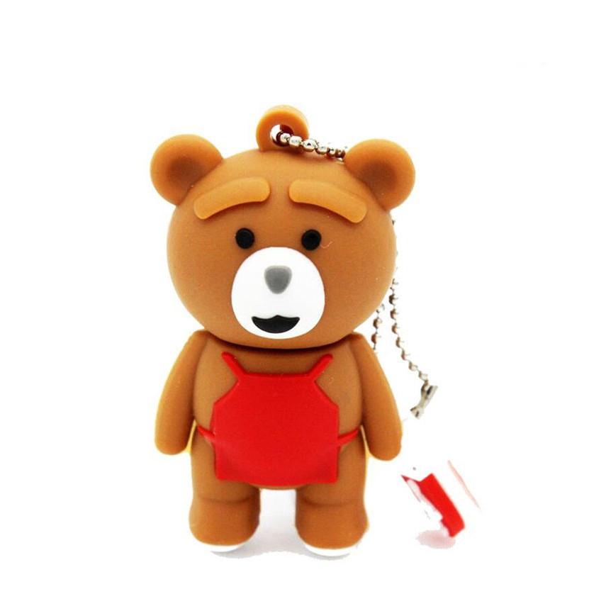 Bear pendrive 4GB 8GB 16GB 32GB 64GB usb flash drive memory stick pen drive Giá chỉ 170.000₫
