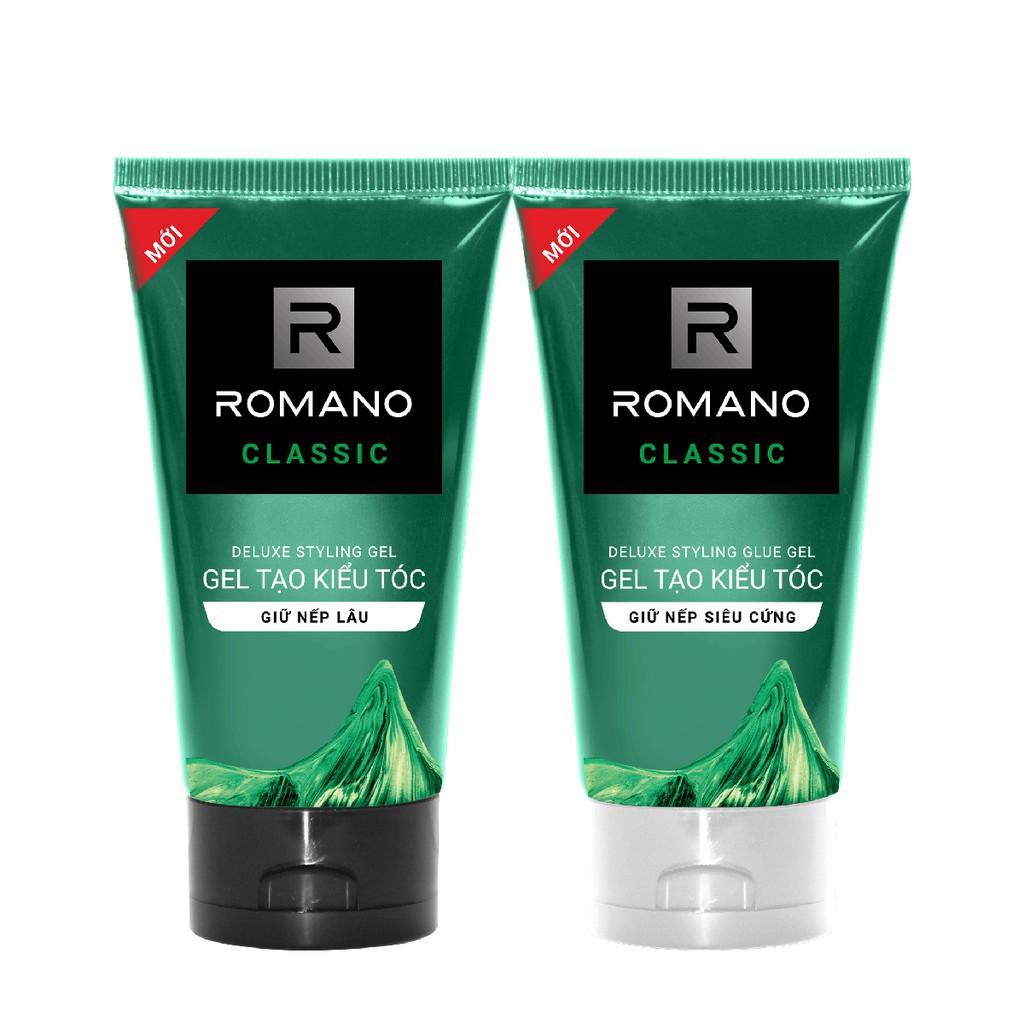 Gel tạo kiểu tóc cao cấp Romano Classic cổ điển lịch lãm 150gr