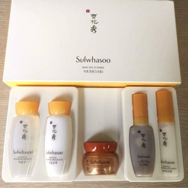 Set dưỡng da Sulwhasoo basic kit