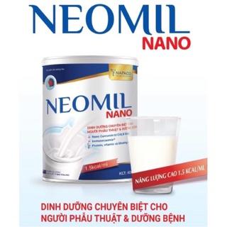 Sữa Bột NEOMIL NANO 900G – Sữa Chuyên Biệt Cho Người Dưỡng Bệnh Trước & Sau Phẩu Thuật