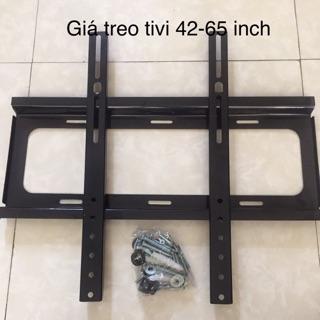 Giá treo tivi phẳng ôm sát tường 42-65inch kèm ốc