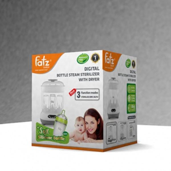 [Mã 267FMCGSALE giảm 8% đơn 500K] Máy tiệt trùng sấy khô điện tử FatzBaby FB4909KM