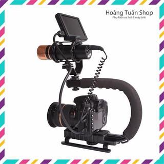 Tay cầm chống rung chữ C quay phim từ điện thoại cho đến máy ảnh máy quay chuyên nghiệp