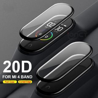 Set 2 phim kính cường lực chống trầy toàn màn hình cho Xiaomi Band 4