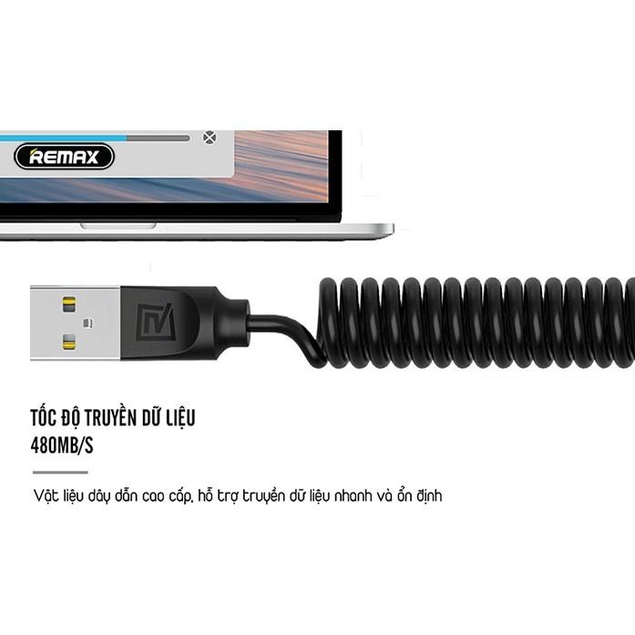 Cáp Sạc Remax RC-117m ✓ Siêu bền hỗ trợ sạc nhanh ✓ Cáp Android