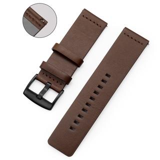 Dây Đeo Bằng Da Bò Thật Cho Đồng Hồ Thông Minh Samsung Gear S3 S2 24mm 22mm 20mm 18mm