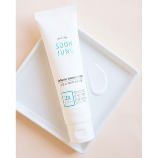 Kem dưỡng cho da khô nhạy cảm tăng cường hàng rào bảo vệ da Etude House SOON JUNG 2X Barrier Intensive Cream 60ml