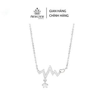 Dây Chuyền Bạc Nhịp Trái Tim - Minh Canh Jewelry thumbnail
