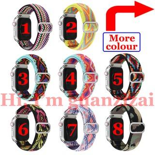 Dây Đeo Vải Dệt Cho Đồng Hồ Thông Minh Apple Watch 6 5 4 3 2 1, 38mm 42mm 40mm 44mm thumbnail