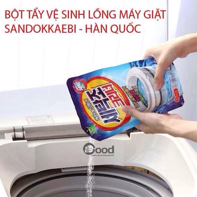 Combo 5 gói bột tẩy lồng máy giặt Hàn quốc - 2446885 , 13903377 , 322_13903377 , 250000 , Combo-5-goi-bot-tay-long-may-giat-Han-quoc-322_13903377 , shopee.vn , Combo 5 gói bột tẩy lồng máy giặt Hàn quốc