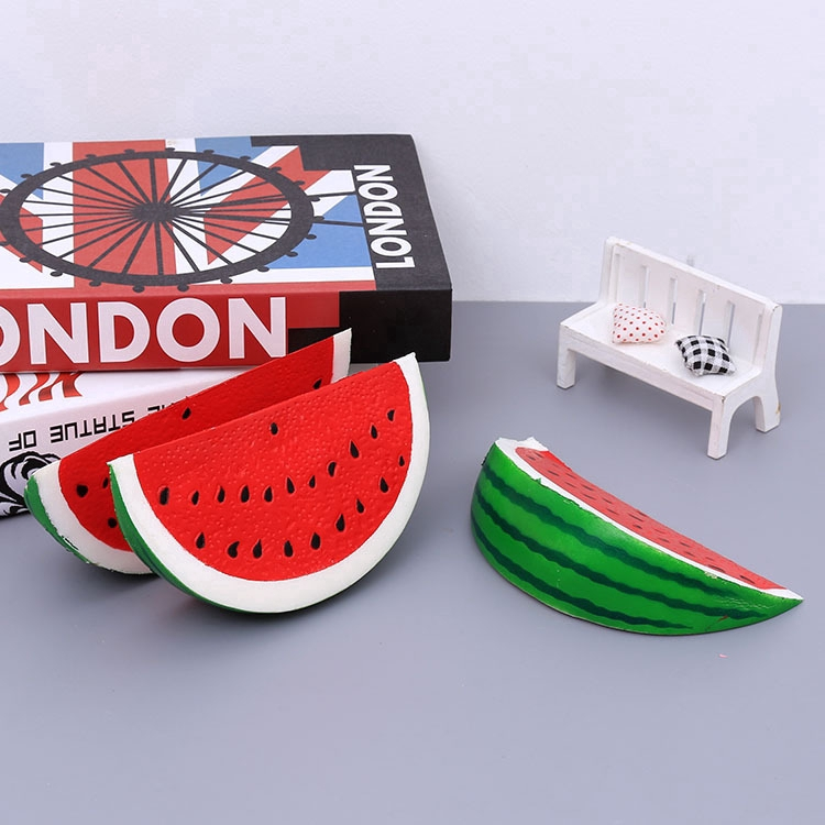 Scented Watermelon Slices Squishy Slow Rising Soft Kids Toys