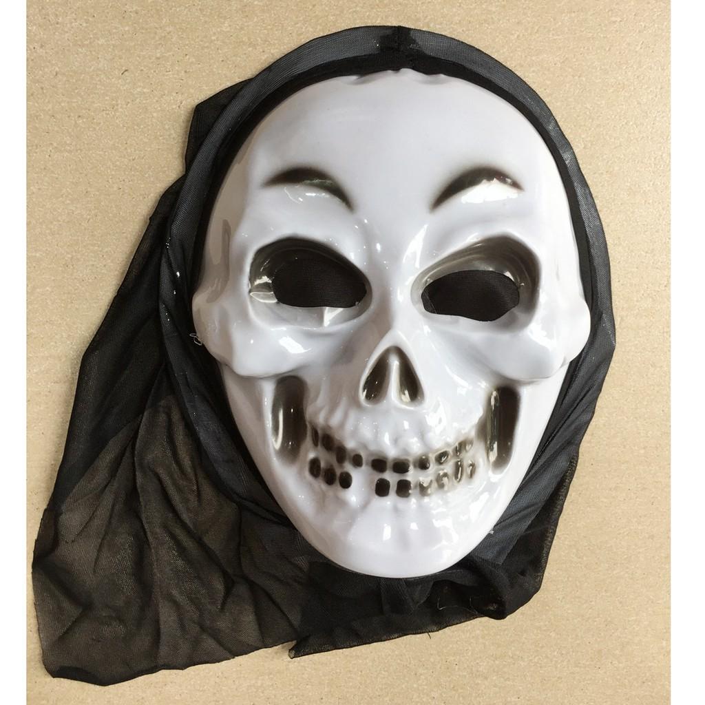 Mặt nạ hóa trang Halloween đầu lâu bà già có vải trùm đầu - 3350367 , 602462138 , 322_602462138 , 40000 , Mat-na-hoa-trang-Halloween-dau-lau-ba-gia-co-vai-trum-dau-322_602462138 , shopee.vn , Mặt nạ hóa trang Halloween đầu lâu bà già có vải trùm đầu