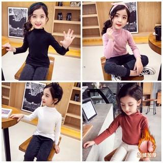 áo giữ nhiệt trẻ em lót nỉ đủ sz dáng đẹp cho bé ( siêu khuyến mãi )