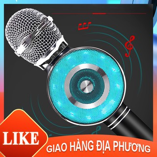 [Mã ELORDER5 giảm 10K đơn 20K] Micro hát karaoke không dây WS669 cầm tay hát hay nhất hiện nay [NBWS-669]