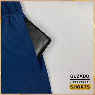 Hình ảnh Quần đùi nam Guzado phong cách thể thao khỏe khoắn, chất gió mềm siêu mịn, co giãn tốt, vận động thoải mái GSR01-6