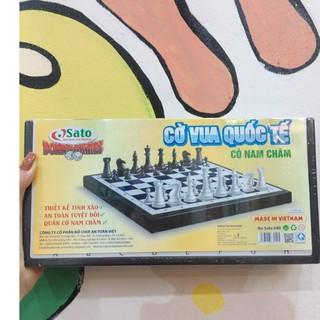 Bộ cờ vua có nam châm tiêu chuẩn quốc tế SATO