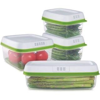 Set hộp trữ rau tươi xanh Rubbermaid