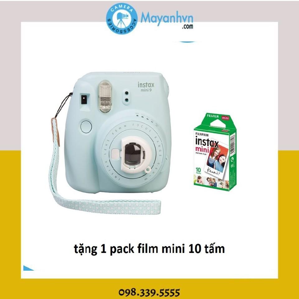 Máy ảnh lấy ngay Fujifilm Instax mini 9 các màu + 1 pack film mini 10 kiểu