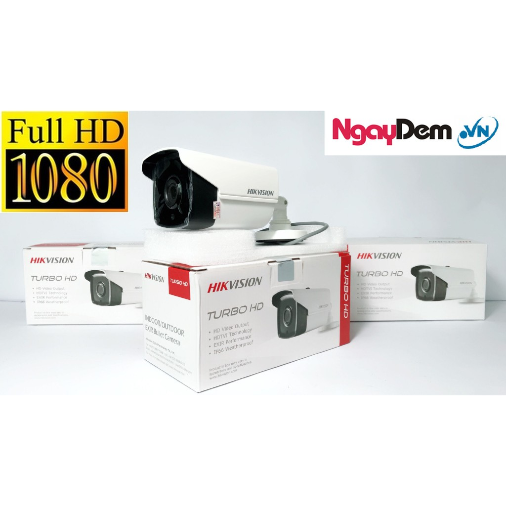 Camera - DS-2CE16D0T-IR - Full HD 1080 - HIKIVISON