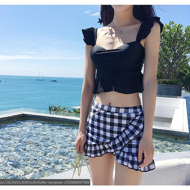 (CÓ SẴN, clip) Bikini/ đồ bơi 2 mảnh váy caro - 3601274 , 1191142606 , 322_1191142606 , 490000 , CO-SAN-clip-Bikini-do-boi-2-manh-vay-caro-322_1191142606 , shopee.vn , (CÓ SẴN, clip) Bikini/ đồ bơi 2 mảnh váy caro