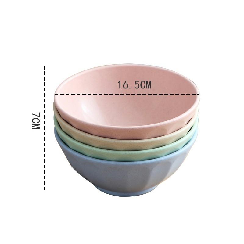 SG - Tô ăn mi 16.5cm chất liệu lúa mì thiên nhiên