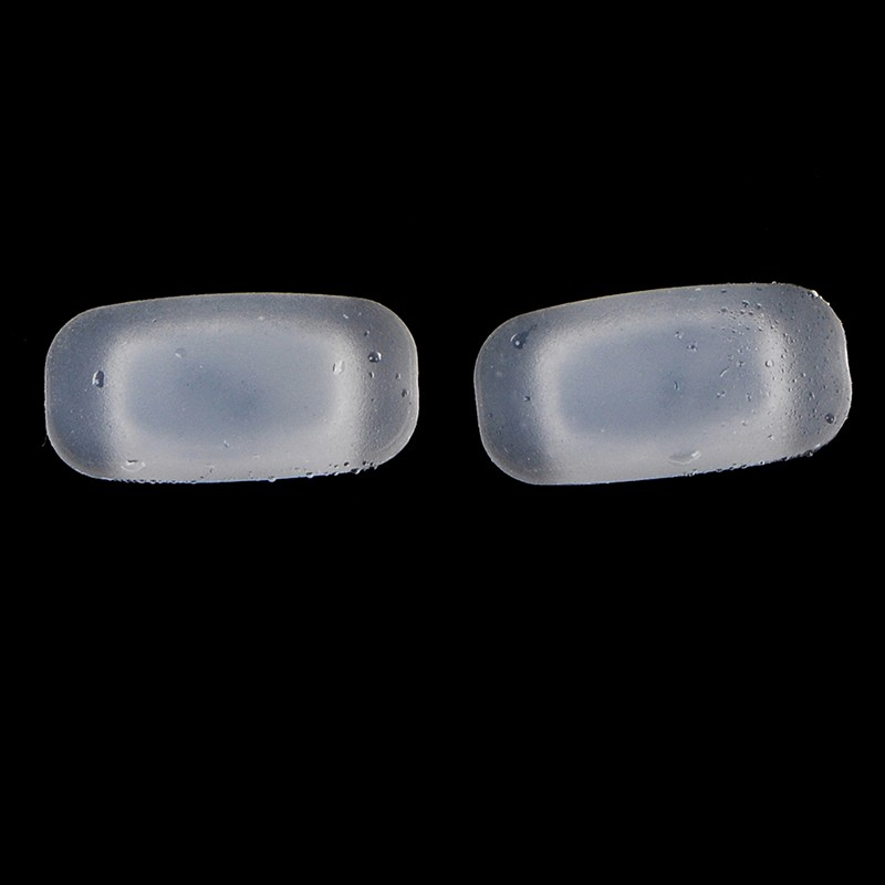 [Flowersmile] 5 Pairs silicone eyeglass sunglasses glasses nose pads soft rectangle vision