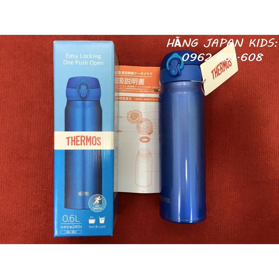 Thermos- Bình lưỡng tính 0.6L