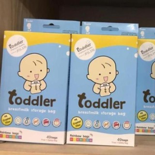 Túi trữ sữa toddler hộp 49c dung tích 250ml