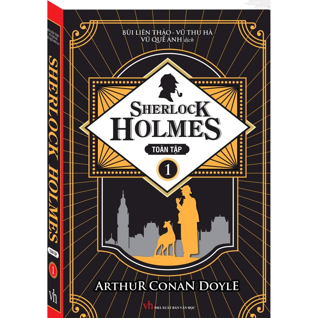 Sách Sherlock Holmes toàn tập-tập 1