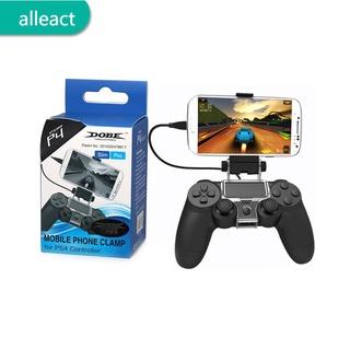 AL Đối với giá đỡ bộ điều khiển trò chơi PlayStation PS4 Giá đỡ kẹp điện thoại thông minh thumbnail