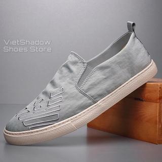 Slip on nam 2020 - Giày lười vải nam cao cấp thương hiệu BAODA - Vải polyester chống thấm 5 màu tuyệt đẹp - Mã 20201 thumbnail
