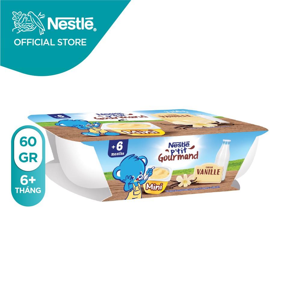 Lốc 2 hộp váng sữa Nestle P'tit (60gr/hộp)