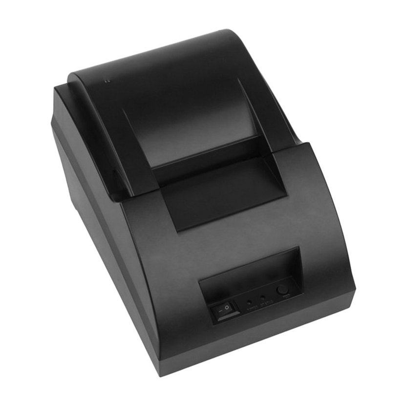 8.15【HOT】USB Mini 58mm POS Thermal Dot Receipt Bill Printer Set Roll Paper POS-5890C